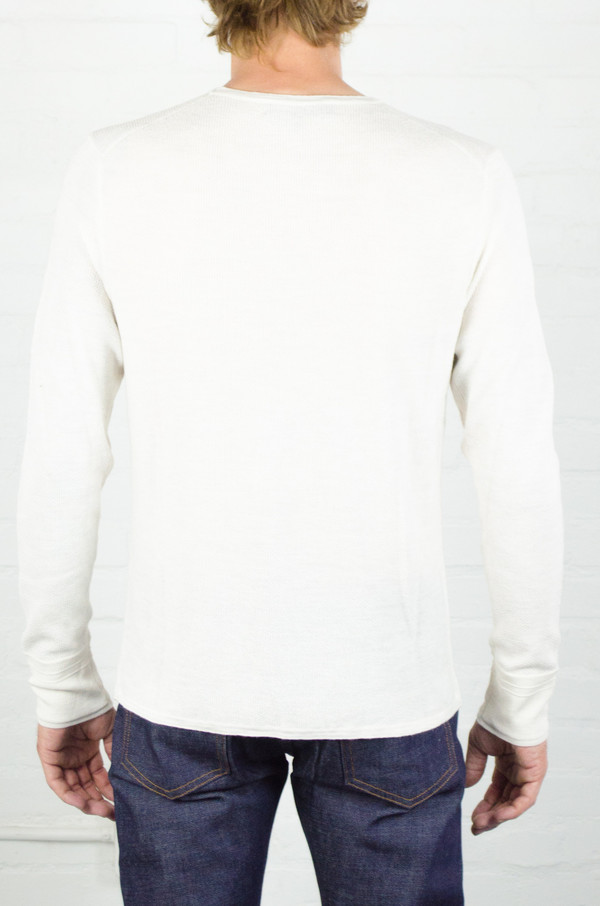 Men's Rag and Bone Cream Giles Crew