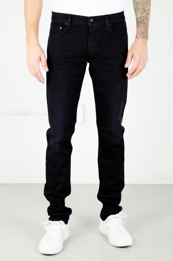 Men's Rag and Bone Fit 2 Jean - Worn Black