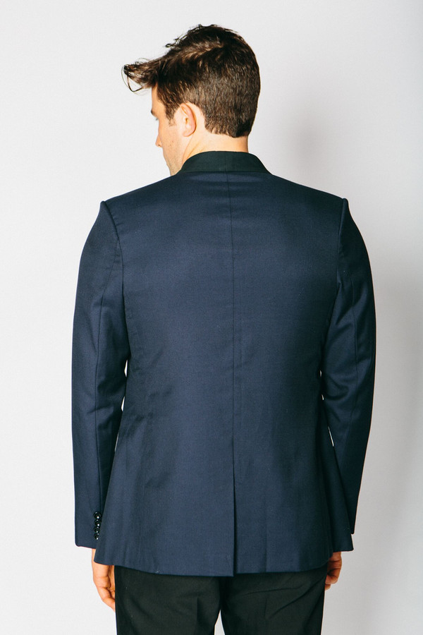 Men's Any Old Iron Classic Cashmere Blend Blazer - Navy