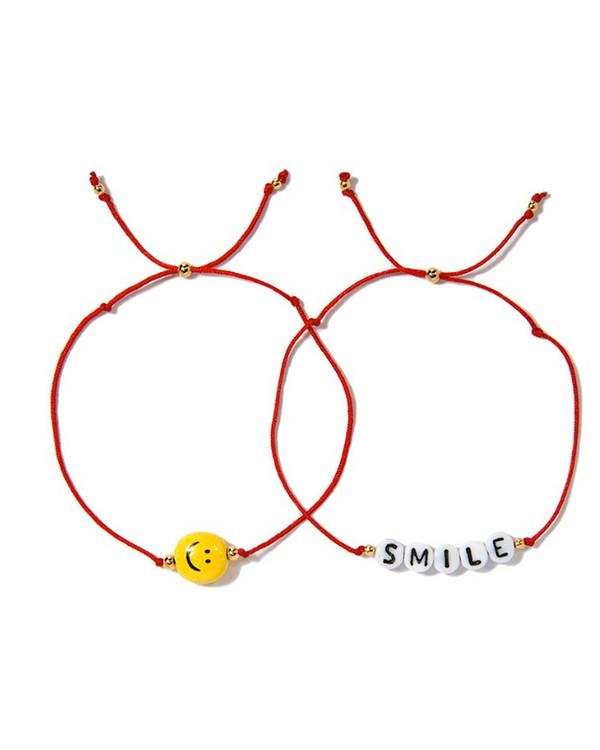 Venessa Arizaga Smile Bracelet Set
