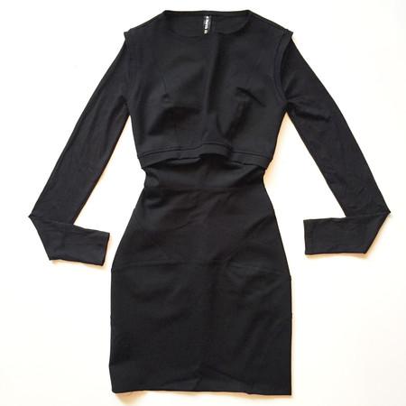 MARTIN DHUST - ADJUSTED DRESS - BLACK