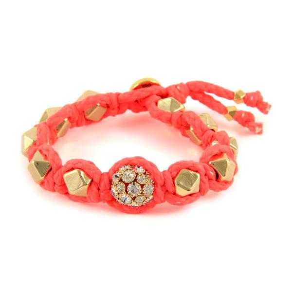 Ettika Neon Faceted Beads Bracelet