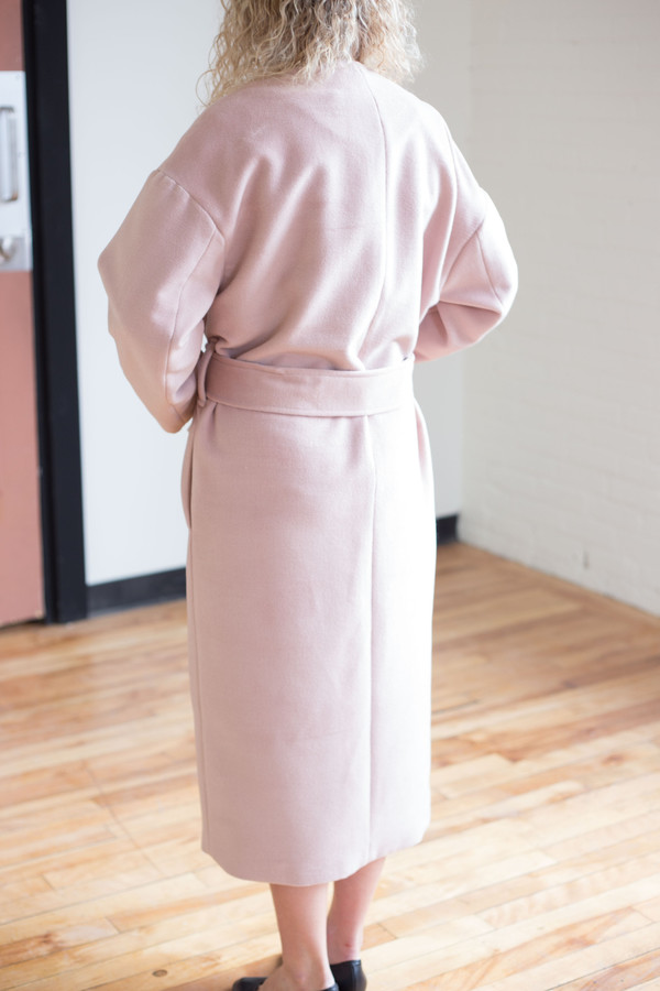 Odeyalo Figaro Coat (Blush)