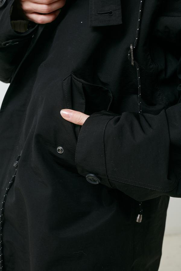 Creatures of Comfort Enith Jacket - black