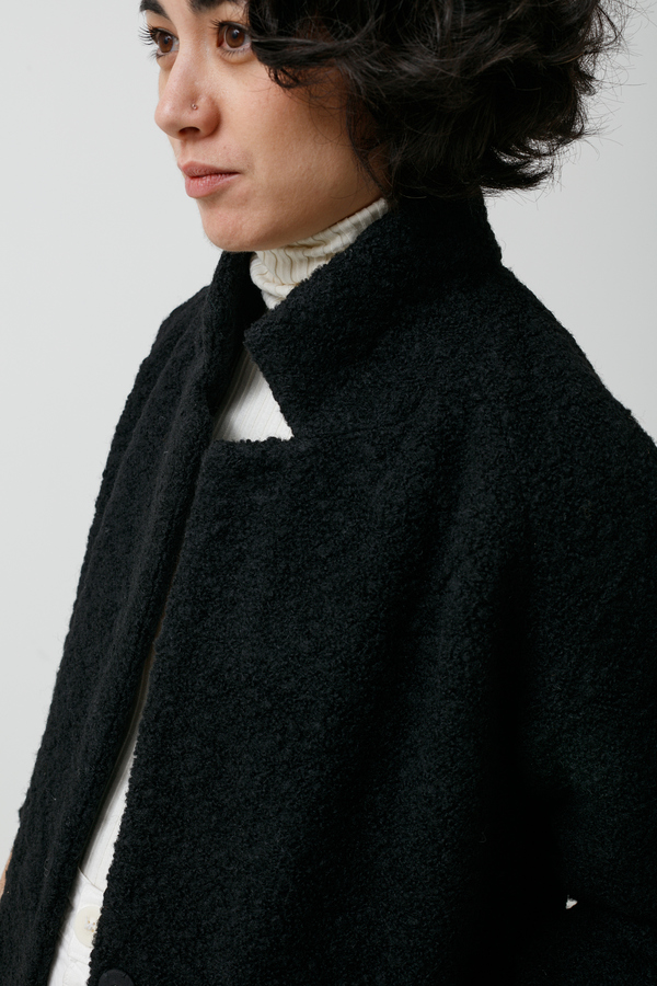 Ganni Fenn Coat - black