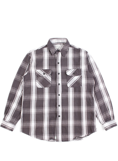 Men's Orslow Vintage Fit Flannel Shirt Black Check