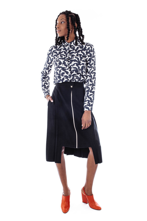 Sightline Ice Skirt Pleated