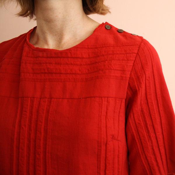 Loup Red Poppy Dress
