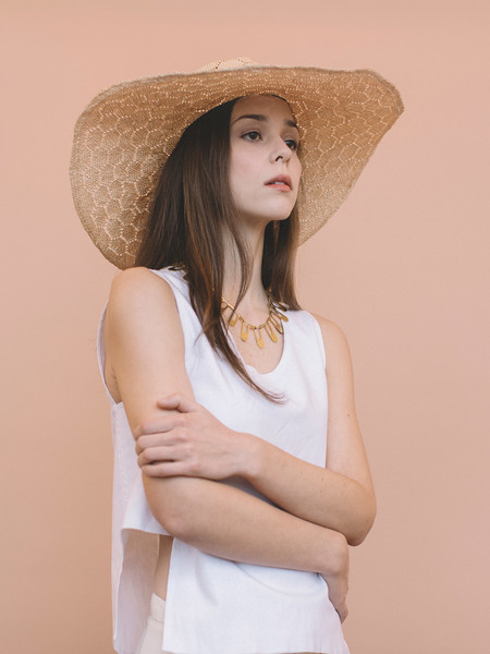Brookes Boswell Optimo Straw Hat