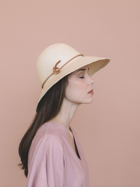 Brookes Boswell Pippin Straw Hat