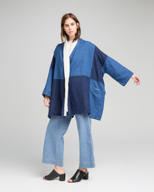 Atelier Delphine Haori denim coat