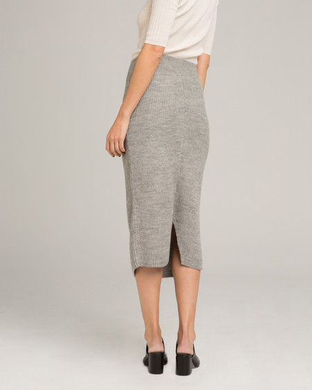 Micaela Greg Tube Alpaca Knit Skirt