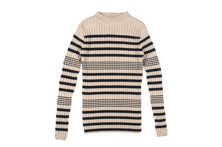 Micaela Greg Rib Stripe Sweater
