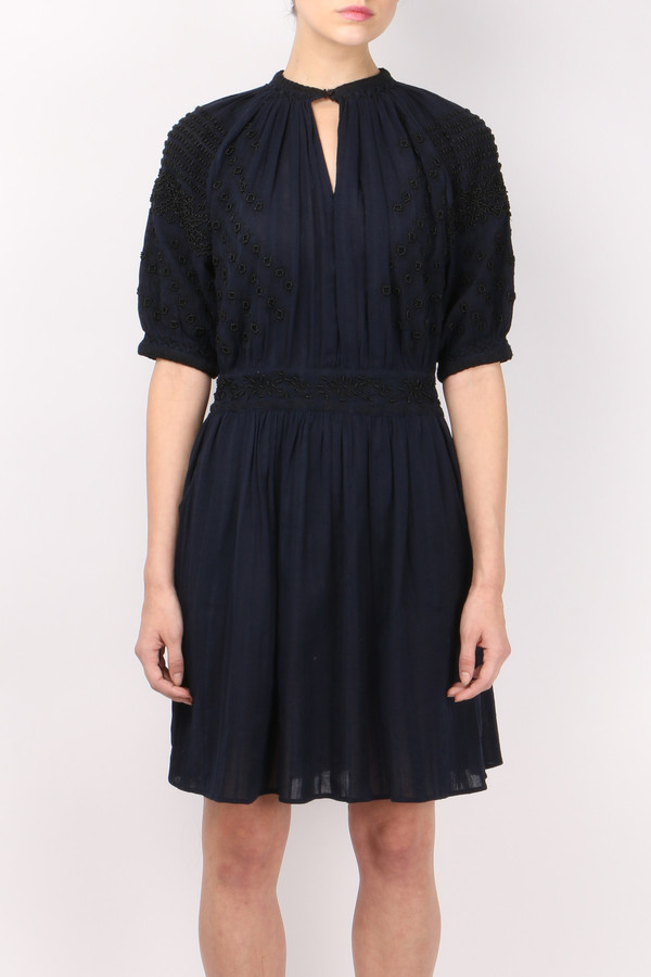 Vanessa Bruno Frivole Embroidered Dress