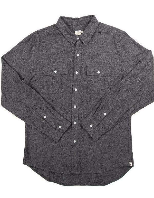 Men's Bridge & Burn Franklin Brushet Twill Shirt