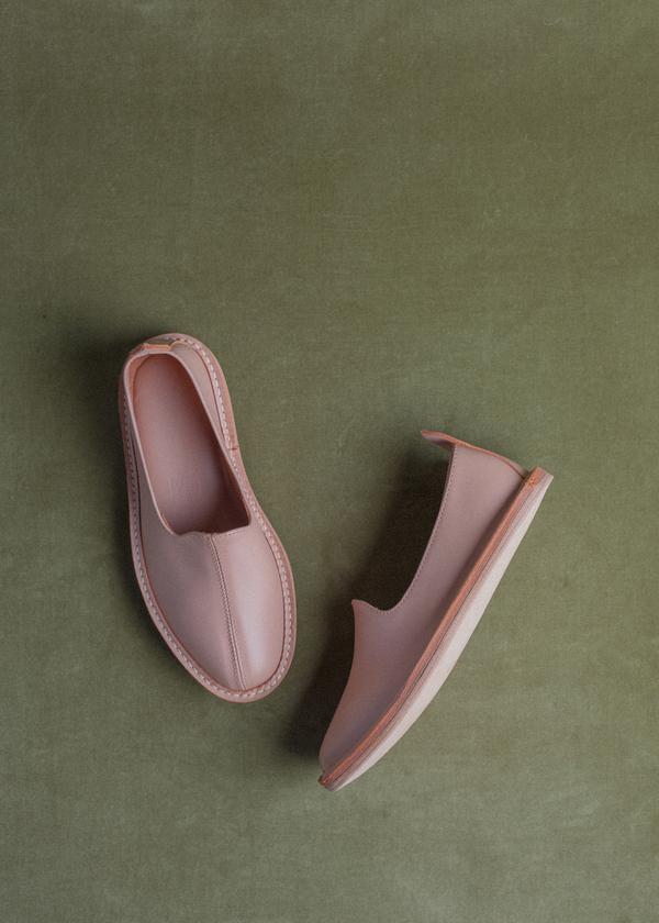 Vayarta Leather Slip On - Silk