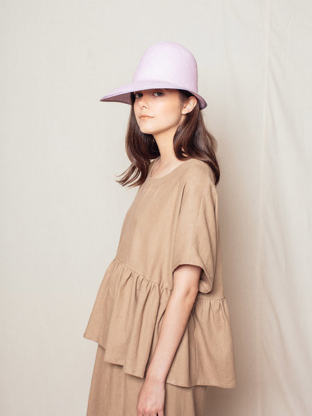Brookes Boswell DUO NYC Pastel Straw Hat