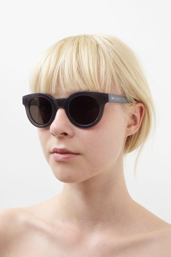Sun Buddies Acetate Edie Sunglasses - Milky Grey
