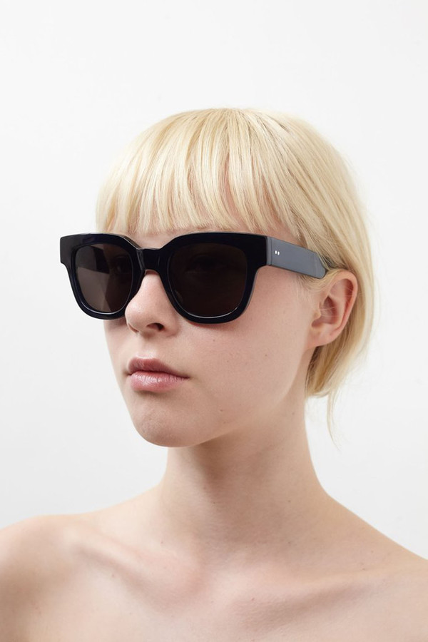 Sun Buddies Acetate Liv Sunglasses - Very Dark Blue