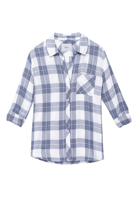 Rails Hunter Button Down - River Melange