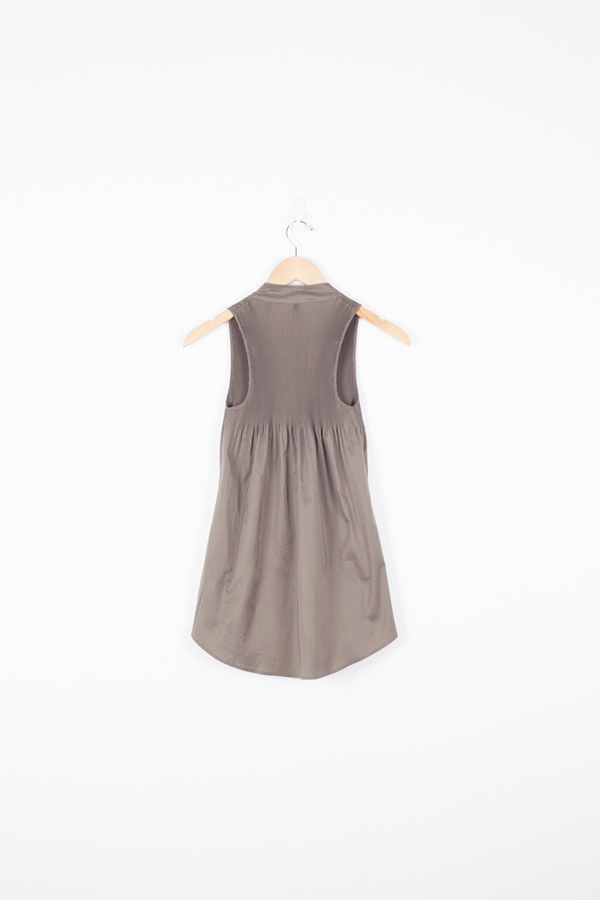 Cotélac Pleated Tank