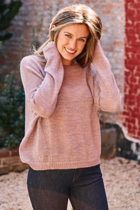 Kordal Anna Sweater - Marled Lilac