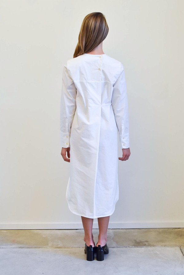 Creatures of Comfort Temperly Dress in White