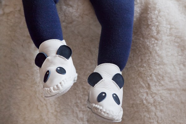 Donsje Kapi Lining Panda Baby Shoe