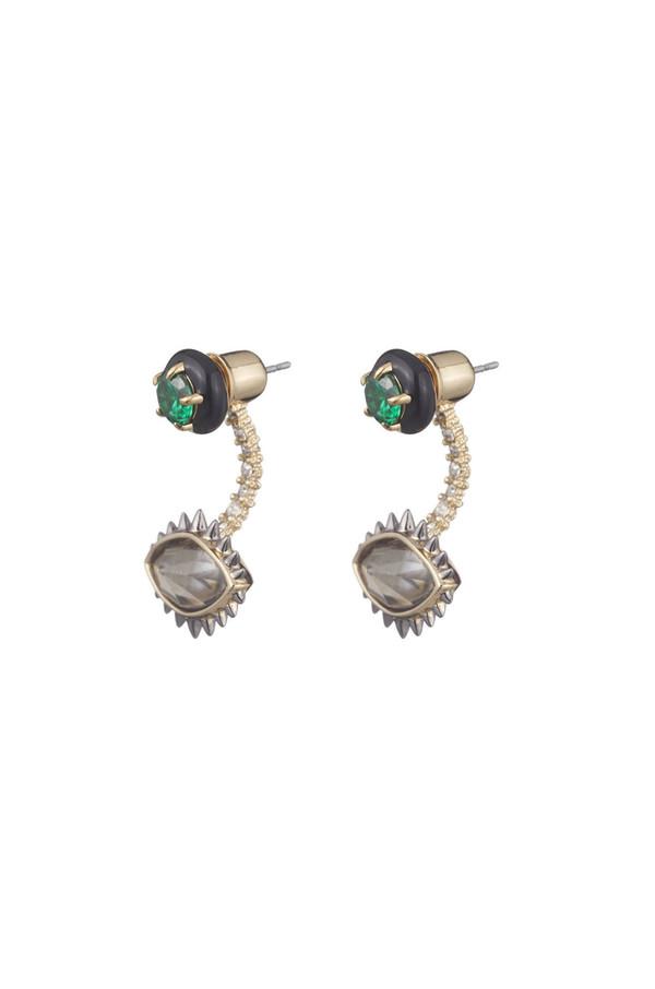 Alexis Bittar Enamel Framed Stud Earring