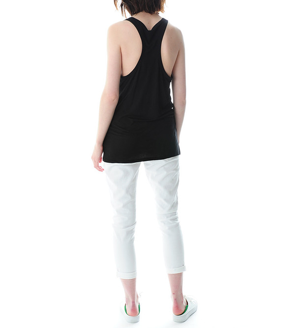 T By Alexander Wang Black Classic Tank With Pocket