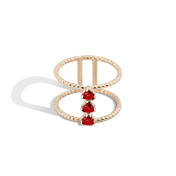 Shahla Karimi 14K Gold Birthstone Ring No. 4
