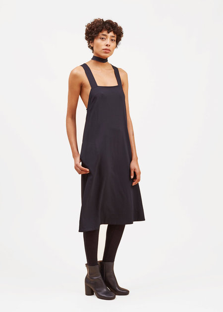 Waltz Pinafore Dress – Midnight
