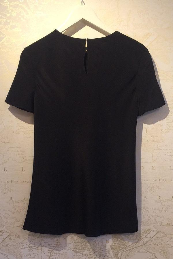Tibi Silk 'Bias' T-Shirt