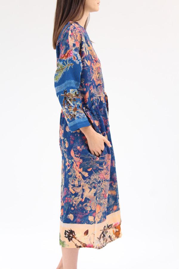 Anntian Simple Dress Print D