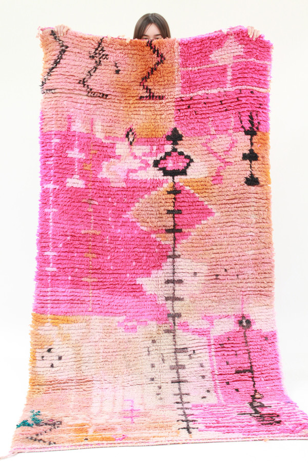Azilal Rug A2 Pink 2