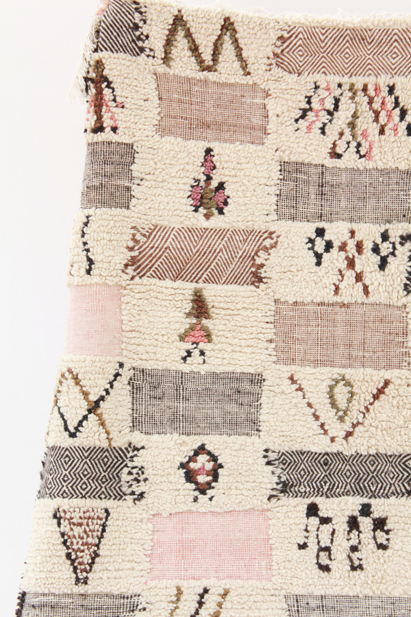 Azilal Rug A2 Pink 2a