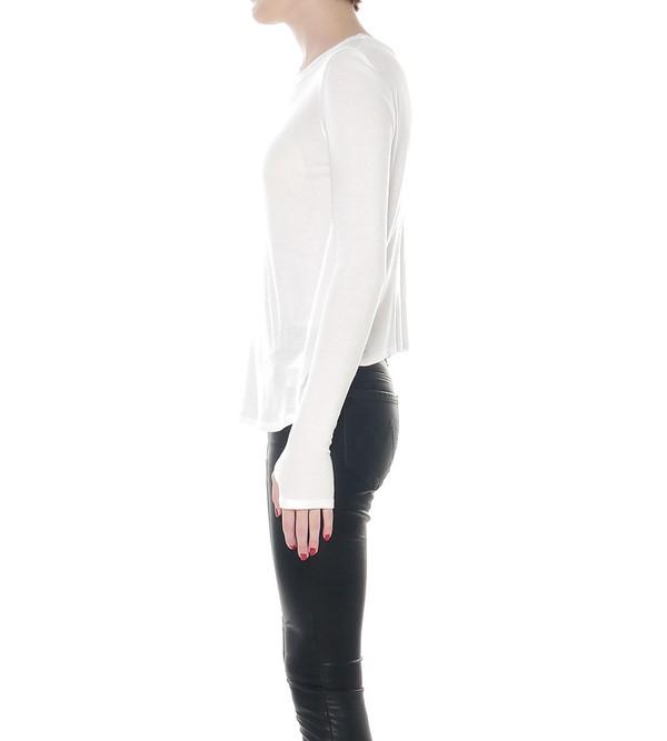 Theyskens Theory Chrystal Frispy Long Sleeved Shirt