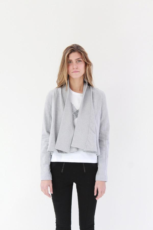 Kowtow Boundless Cardigan Grey