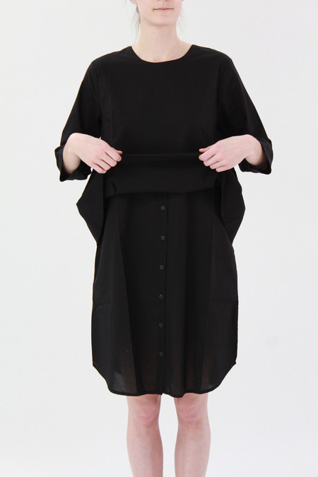 Kowtow Story We Tell Dress Black