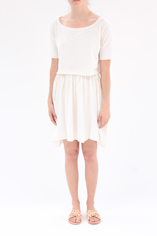 Beklina Detached Dress Ivory