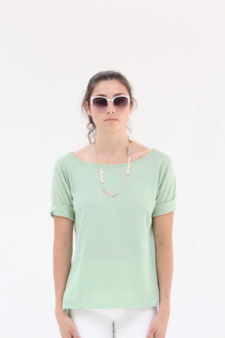 Beklina Knit T Shirt Mint