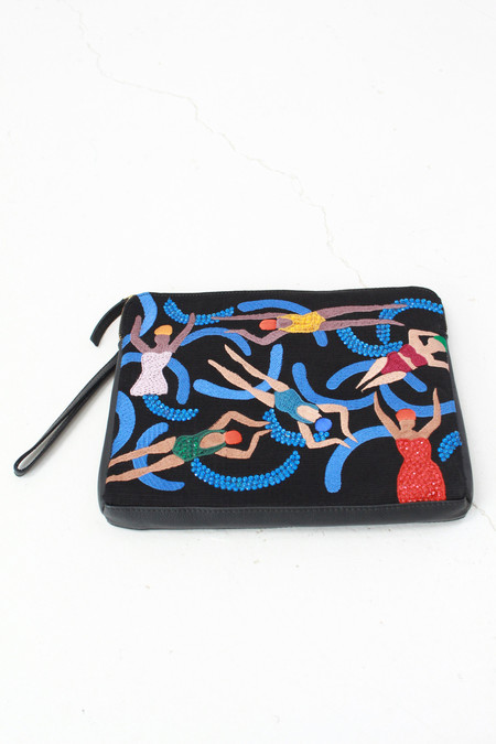 Lizzie Fortunato Safari Clutch Pool Girls