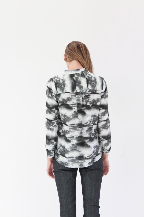 Podolls Pullover Blouse Cloud Print