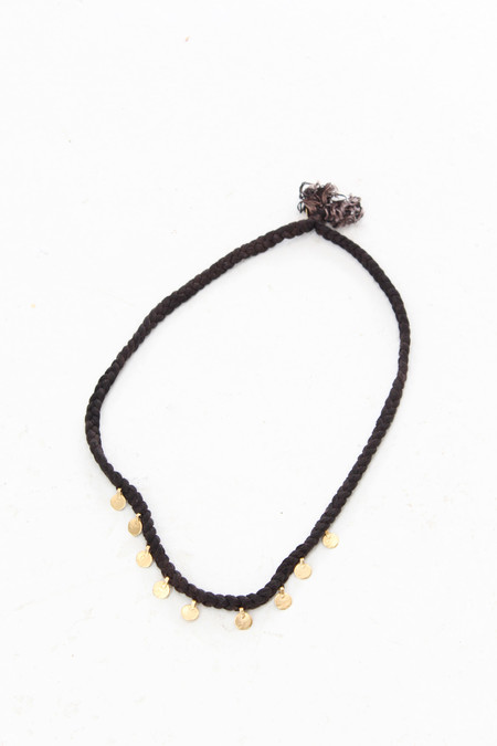 Artist Takara Oro Necklace Black