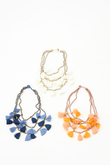 Bluma Project Tassel Necklaces