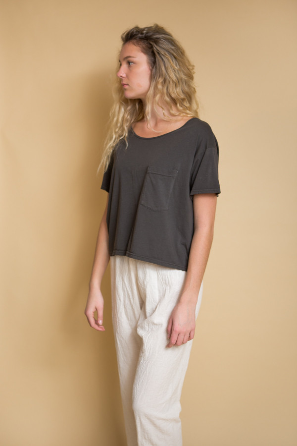OAK Slouch Pocket Tee - Fatigue