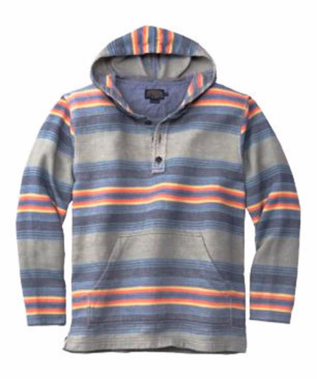 Men's Pendleton Serape Stripe Surf Popover