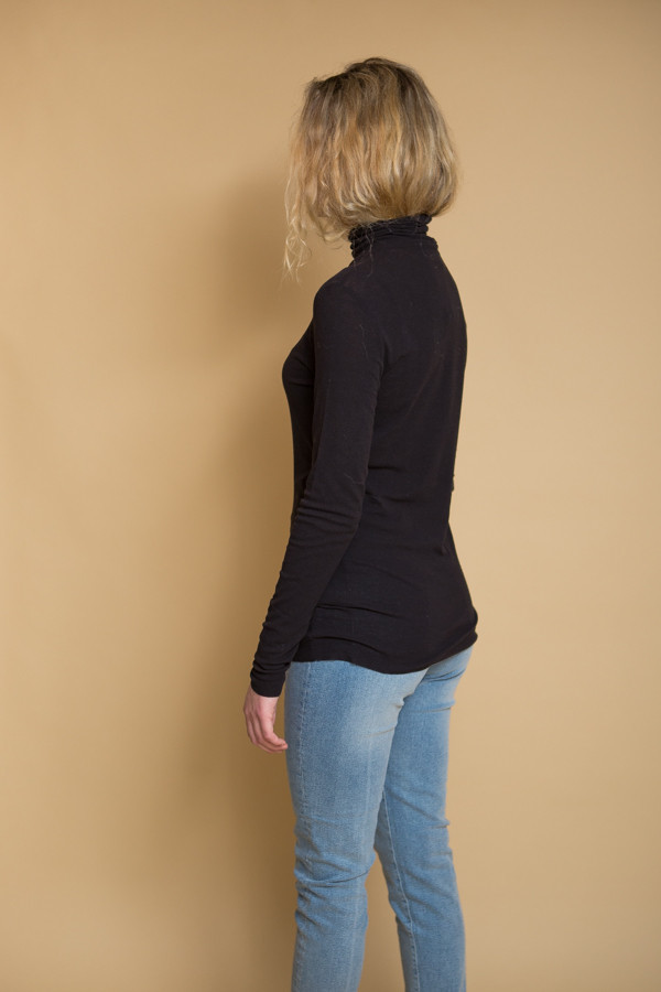 Just Female Inner Blouse - Black