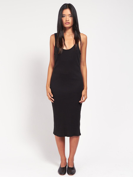 Skin Meredith Tank Dress Black