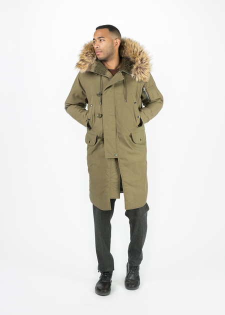 Men's NLST N3-B Nylon Parka